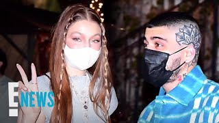 Gigi Hadid Celebrates Her First Birthday As A Mom With Lots Of PDA | E! News