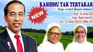 Download lagu KASIHMU TAK TERTAKAR (Lagu buat Pak Jokowi) Sr. Lucia ft Sr. Hilde diisi dg Puisi oleh ODGJ