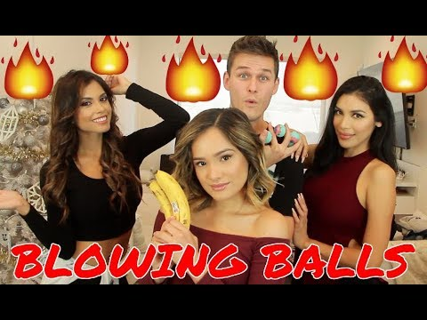 Blowing Balls With Three Hot Chicks ft Chachi Gonzales, Tania Lucely, & Mayte Lopez