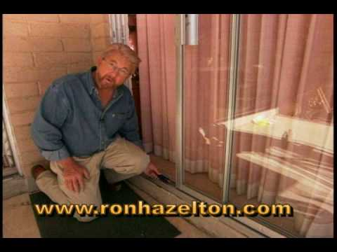 How To Adjust And Repair Sliding Patio Doors Youtube