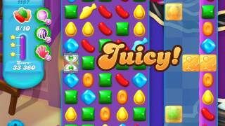 Candy Crush Soda Saga Level 1187 (buffed, 3 Stars)