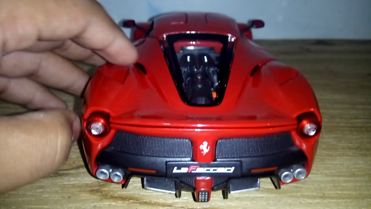 Burgo Laferrari Toy Car Look Youtube