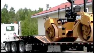 Patent Pending Paver Equipment Trailer by EZ-2-LOAD Trailers