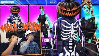 NEVER BUY ACCOUNT FORTNITE THE HALLOWEEN NIGHT!! It's SUCCESSO THIS!! GHOUL TROOPER?