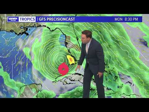 Thursday Evening Tropical Update: Eta forecast to move over water, strengthen Friday