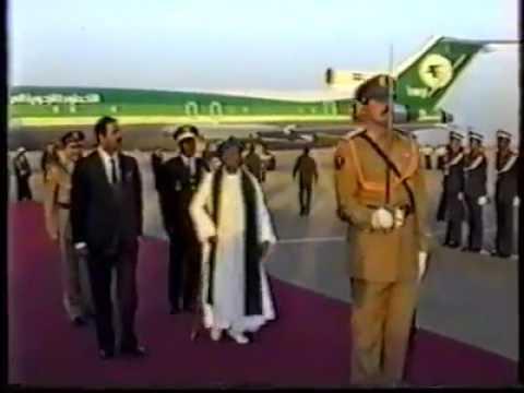 """Président Ahmed Abdallah """"Comores en Irak 1989"""