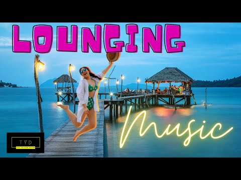 [Just Lounging] To sunset ocean moon | relaxing music | To | get peace of mind now