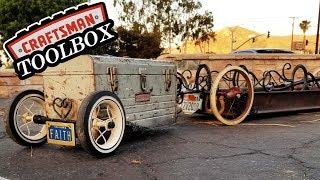 Tiny Wagon Trailer #2 - Craftsman Toolbox - ラジオフライヤーワゴンカスタム
