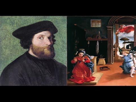Lorenzo lotto video mostra opere realizzate dal 1500 al 1555