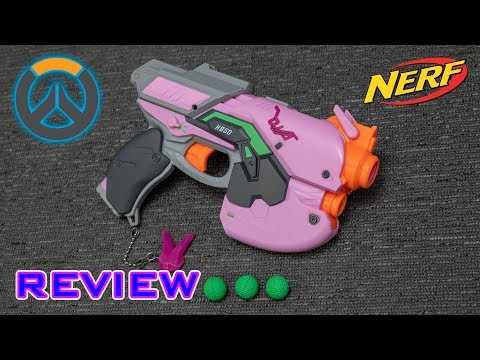 [REVIEW] Nerf Rival Overwatch D. Va Blaster | PINK KRONOS?! thumbnail