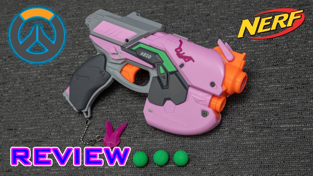 [REVIEW] Nerf Rival Overwatch D  Va Blaster   PINK KRONOS?!