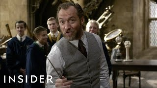 How Jude Law Was Cast As A Younger Dumbledore In 'Fantastic Beasts: The Crimes Of Grindelwald'