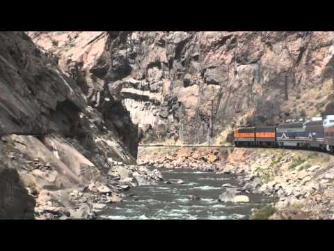 Through The Royal Gorge! Riding The Royal Gorge Route Railroad