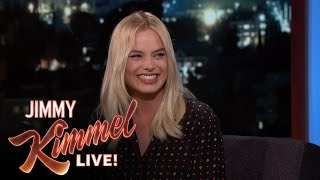 Margot Robbie Actually Spat on Christoph Waltz