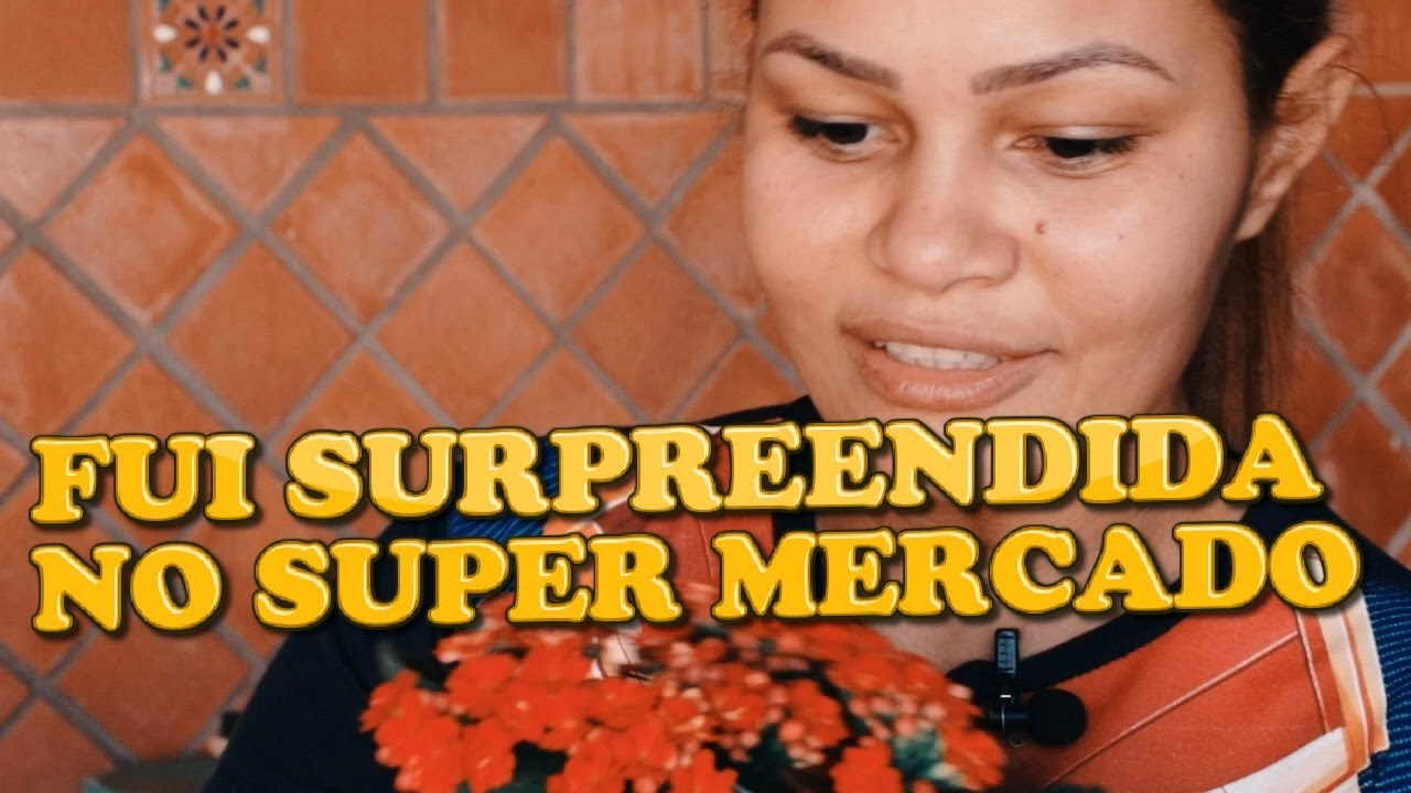 FUI SURPREENDIDA NO ( SUPER MERCADO)