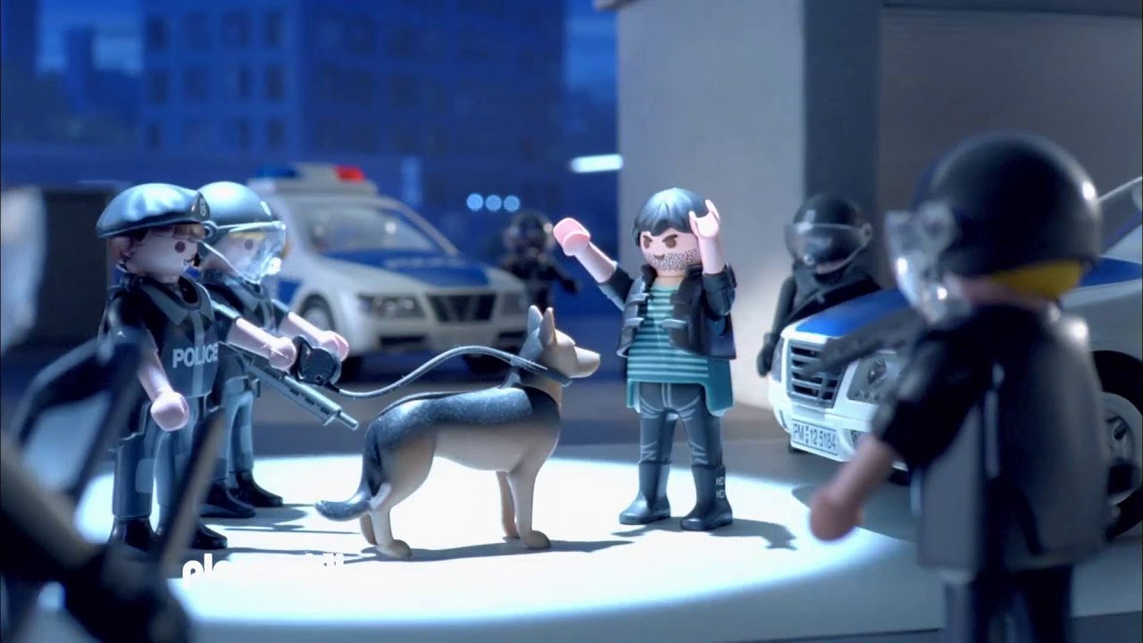 la police et les forces spciales playmobil city action