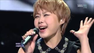 The Seeya (더 씨야) [독약 (Poison)] @SBS Inkigayo 인기가요 20121209