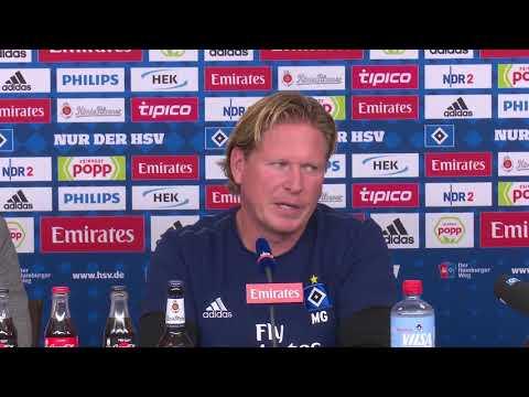HSV-Trainer Markus Gisdol vor dem Nordduell in Hannover
