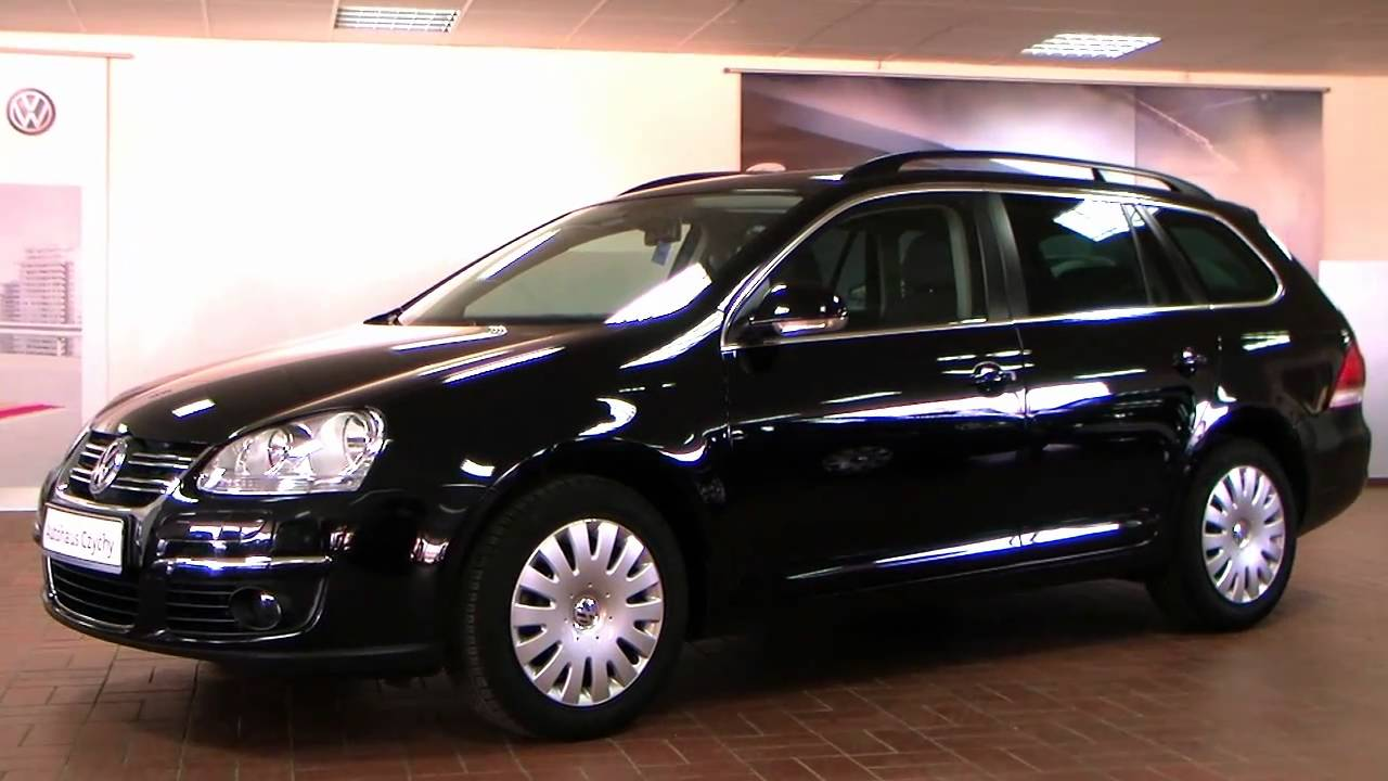 volkswagen golf v variant 1 4 tsi comfortline 2010 deep black perleffekt 9m337249 youtube. Black Bedroom Furniture Sets. Home Design Ideas