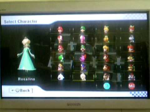 Mario Kart Wii How To Unlock All Characters Including Mii