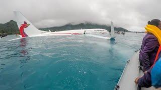 Survivor of Pacific Plane Crash Says Ordeal 'Was Just Surreal'