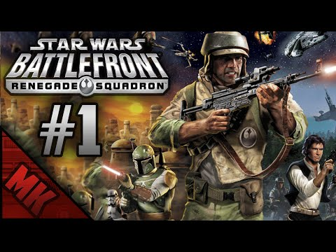 Let's Play Star Wars Battlefront - Renegade Squadron #1