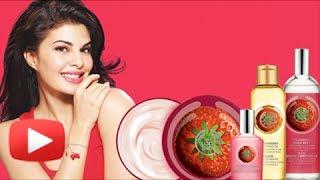 Kick Actress Jacqueline Fernandez - New Face Of The Body Shop - Launch Event