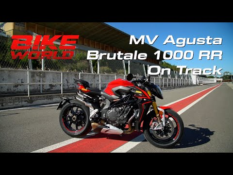 MV Agusta Brutale 1000 RR On Track