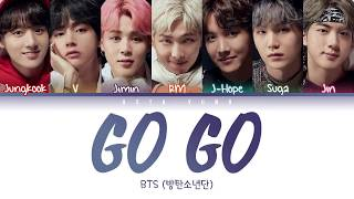 Download lagu BTS (방탄소년단) - Go Go (고민보다 Go) (Color Coded Lyrics Eng/Rom/Han/가사)