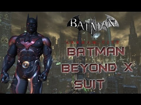 Arkham City Mod Batman Beyond X Youtube