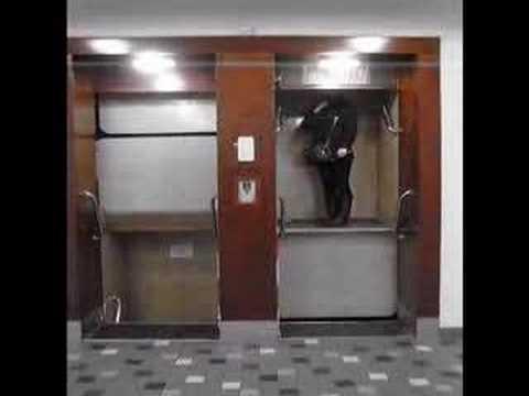 Elevator in Prague
