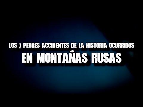 Los 7 peores accidentes de la historia ocurridos en montañas rusas