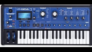 Novation Mininova, Some Amazing Sounds and Features