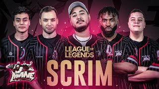 SCRIM AVEC LES MANE SUR LEAGUE OF LEGENDS !!