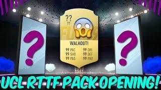WALKOUT! OBROVSKÝ UCL RTTF PACK OPENING!   FIFA 19 CZ