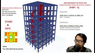 Design & Analysis of A Medium-Rise Building - Part 5 (Design of Slab)