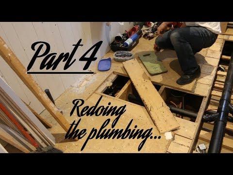 Bathroom OVERHAUL pt4: Redoing the plumbing | GOT2LEARN