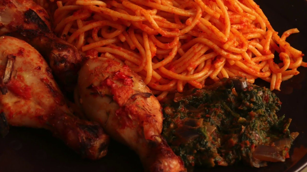 Image result for How to make Simple Jollof Spaghetti