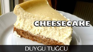 New York Cheesecake Tarifi | Sade Cheesecake - Chef Duygu Tuğcu