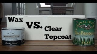 Wax vs Poly Over Chalk Paint - Which is Better?