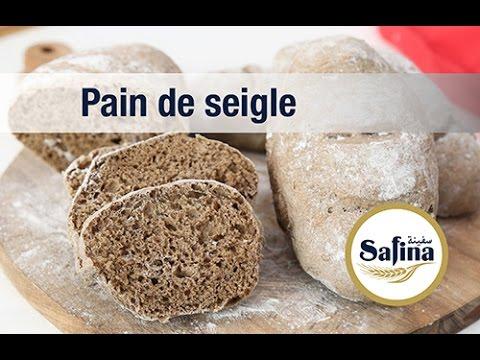 Recette Safina :  « Pain de seigle noir individuel (version individuelle) »