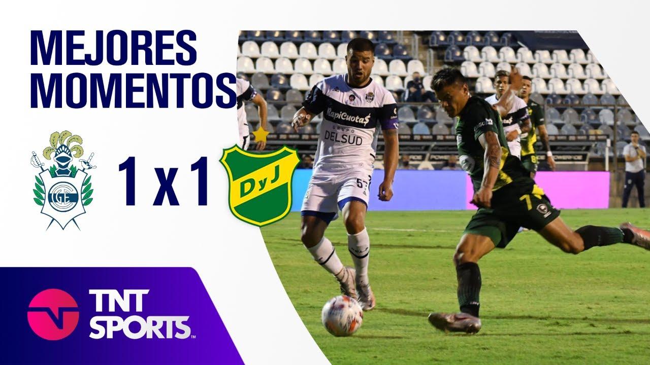 Resumen de Gimnasia LP vs Defensa y Justicia (1-1) | Zona B - F 4 - Copa LFP 2021