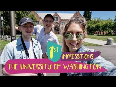 The University Of Washington  | UW Q&A  | First Impressions