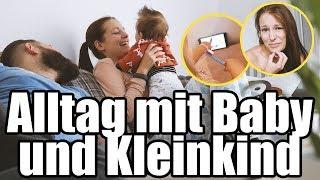 24 Stunden mit Baby und Kleinkind / VLOG / Familie M.