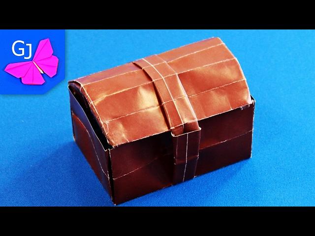 Видеоурок оригами сундук