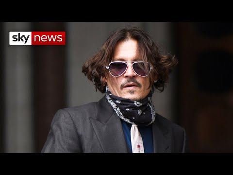 BREAKING NEWS: Johnny Depp loses libel case against The Sun