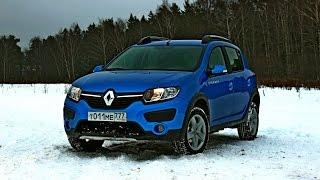 видео Новый Рено Сандеро Степвей 2014 - 2015 (Renault Sandero): технические характеристики, цена, фото и тест драйв авто