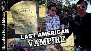 True Mercy Brown Vampire Legend! The Last American Vampire!