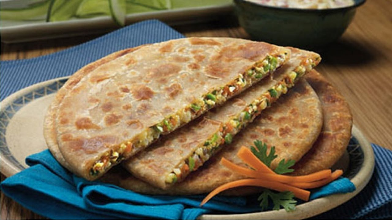 Image result for Mixed Vegetable Paratha