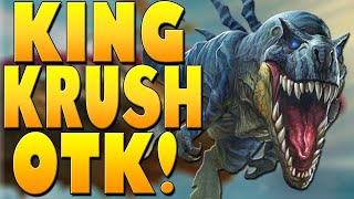 Don't MESS with the KING! King Krush OTK! | Descent of Dragons | Hearthstone